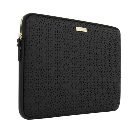 Kate Spade New York Perforated Sleeve for New Surface Pro/ Pro 4 - Black