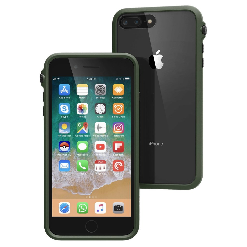 sports shoes e4115 b5a0b CATALYST IMPACT PROTECTION CASE FOR IPHONE 8 PLUS/7 PLUS - ARMY GREEN
