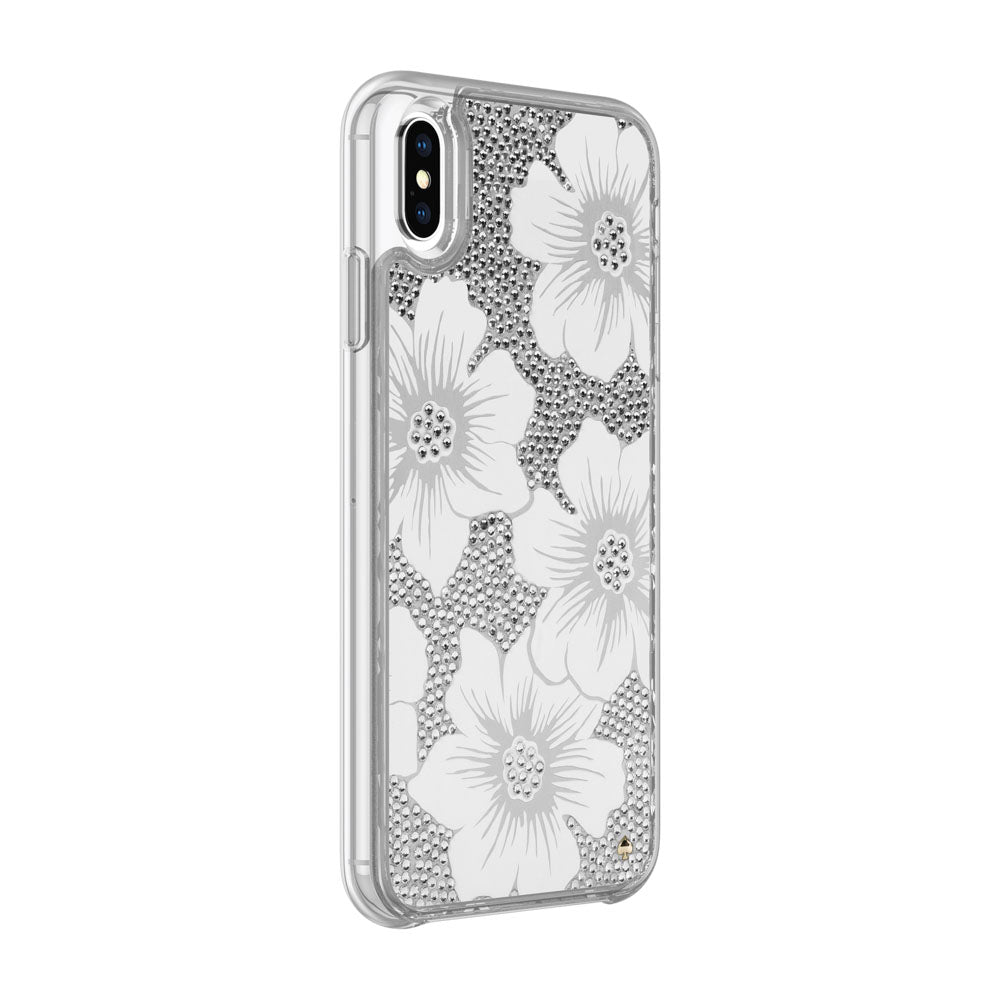 Shop Australia stock KATE SPADE NEW YORK FULLY CLEAR CRYSTAL PROTECTIVE CASE FOR IPHONE XS/X - HOLLYHOCK CREAM/BLUSH/GEM with free shipping online. Shop Kate Spade New York collections with afterpay Australia Stock