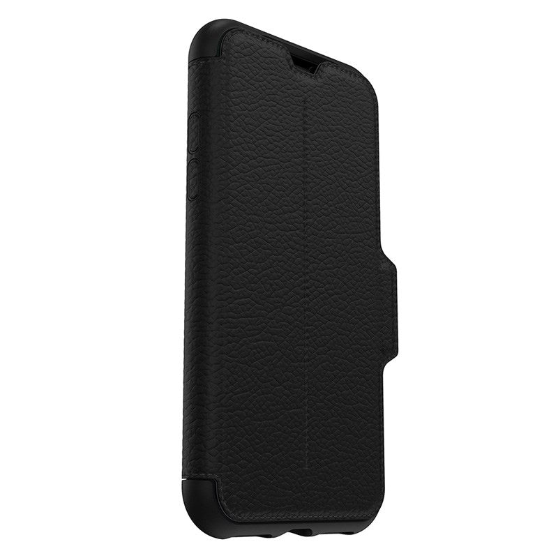 OTTERBOX STRADA LEATHER CARD FOLIO CASE FOR IPHONE XS/X - BLACK (SHADOW) Australia Stock
