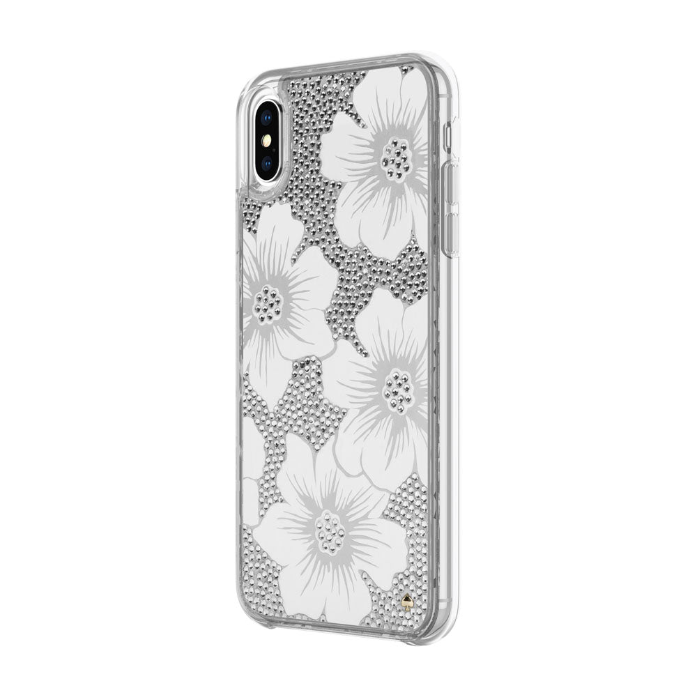 Shop Australia stock KATE SPADE NEW YORK FULLY CLEAR CRYSTAL PROTECTIVE CASE FOR IPHONE XS MAX - HOLLYHOCK CREAM/BLUSH/GEM with free shipping online. Shop Kate Spade New York collections with afterpay Australia Stock