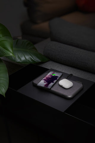 Buy new wireless charger pad from Zenc compatible to charge 2 devices in one time, now comes with free express shipping Australia wide.