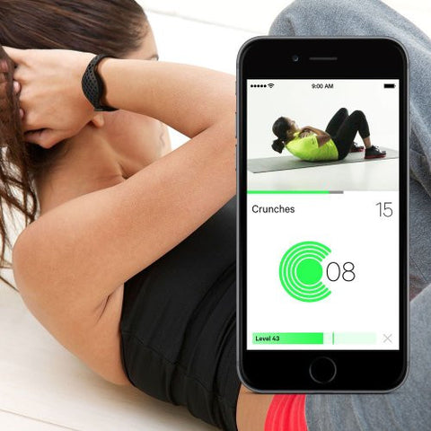 Moov Now Personal Fitness Coach Workout Tracker - Blizzard White