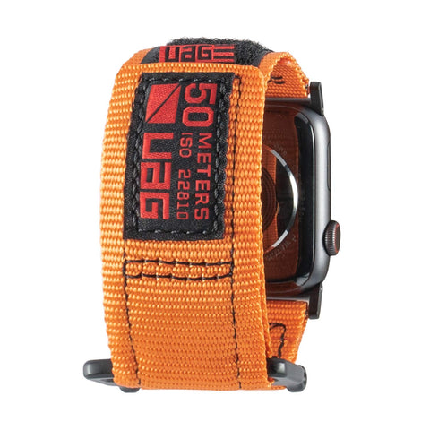 Shop Australia stock UAG ACTIVE WATCH STRAP FOR APPLE WATCH 44 MM/42 MM - ORANGE with free shipping online. Shop Syntricate collections with afterpay