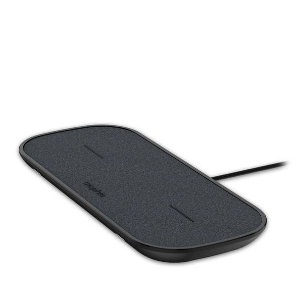 Shop Australia stock Mophie Dual Wireless Charging Fabric Pad For Qi-Enabled Devices - Black with free shipping online. Shop Mophie collections with afterpay