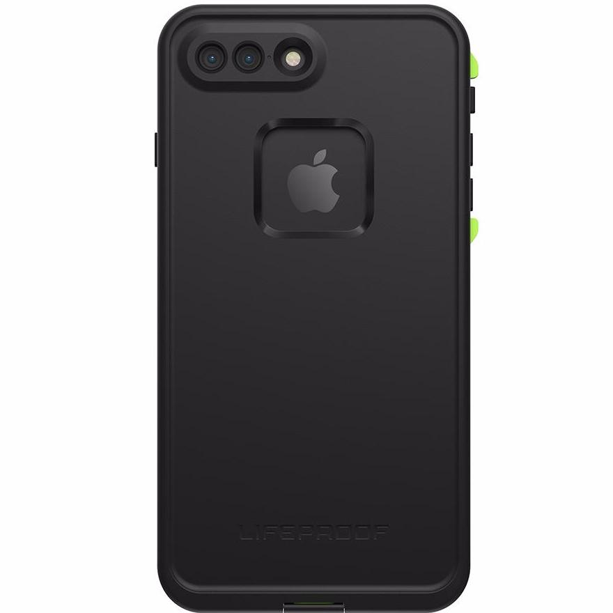 Free express shipping Australia Lifeproof Fre 360° Waterproof Case For Iphone 7 Plus Black/Lime Australia Stock