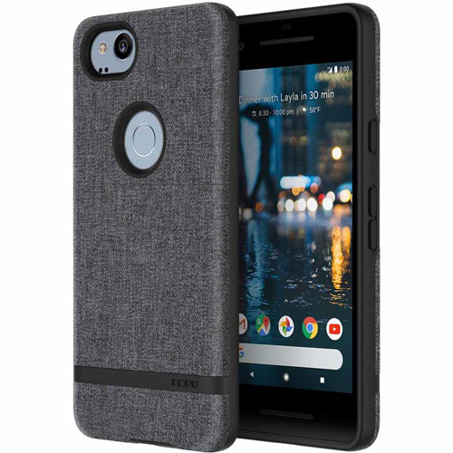 though and fashionable design case from incipio carnaby esquire sleek case for google pixel 2 - grey. Authorized distributor offer free express shipping australia wide. Australia Stock