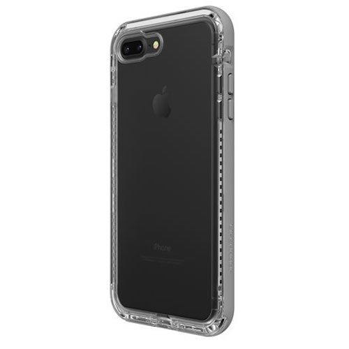 huge selection of 64ac1 2313b LIFEPROOF NEXT SERIES RUGGED CASE FOR iPHONE 8 PLUS/7 PLUS - CLEAR/GREY
