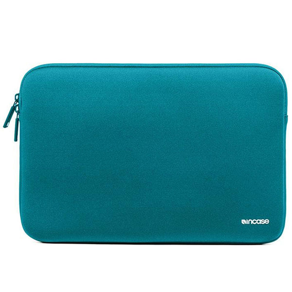 incase neoprene classic sleeve for macbook 15 inch - blue peacock