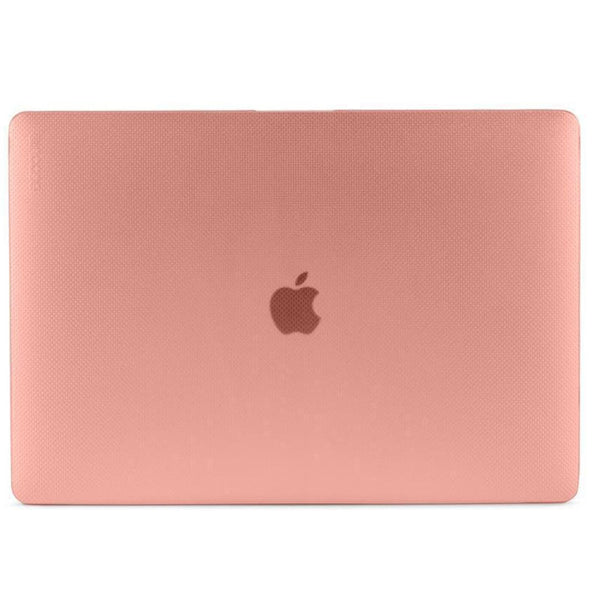 buy incase hardshell dot case for macbook pro 15 inch w/touch bar - rose quartz australia