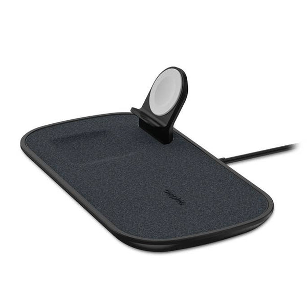 Shop Australia stock MOPHIE 3-in-1 Wireless Charging Pad W/AU Plug Adapter - Fabric Black with free shipping online. Shop Mophie collections with afterpay