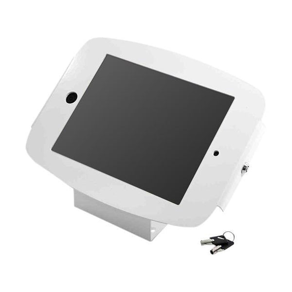 Shop Australia stock COMPULOCKS SPACE ENCLOSURE KIOSK SECURITY STAND FOR iPAD 9.7/AIR 2/AIR/PRO 9.7- WHITE with free shipping online. Shop Compulocks collections with afterpay