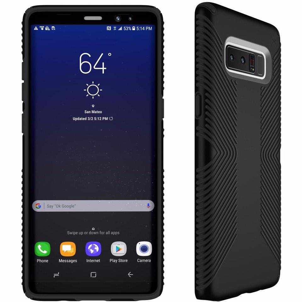 Where to buy genuine SPECK PRESIDIO GRIP IMPACTIUM SLIM CASES FOR GALAXY NOTE 8 - BLACK/ BLACK. Free express shipping Australia wide from authorized distributor. Australia Stock