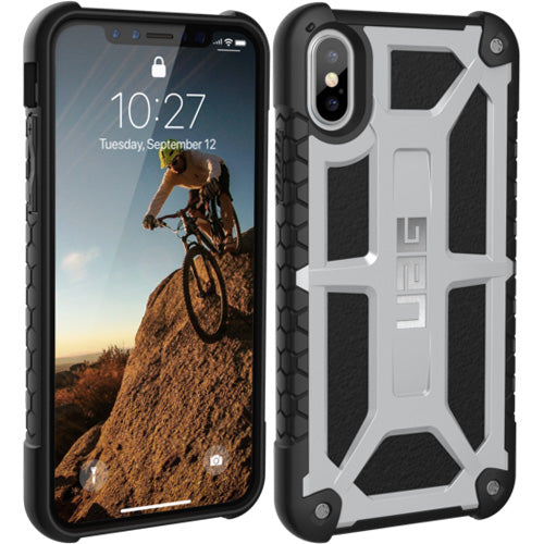 The one and only place to shop and buy genuine Uag Monarch Handcrafted Rugged Military Std Case For Iphone XS / iPhone X - Platinum. Free express shipping Australia wide from authorized distributor and trusted official online store Syntricate. Australia Stock