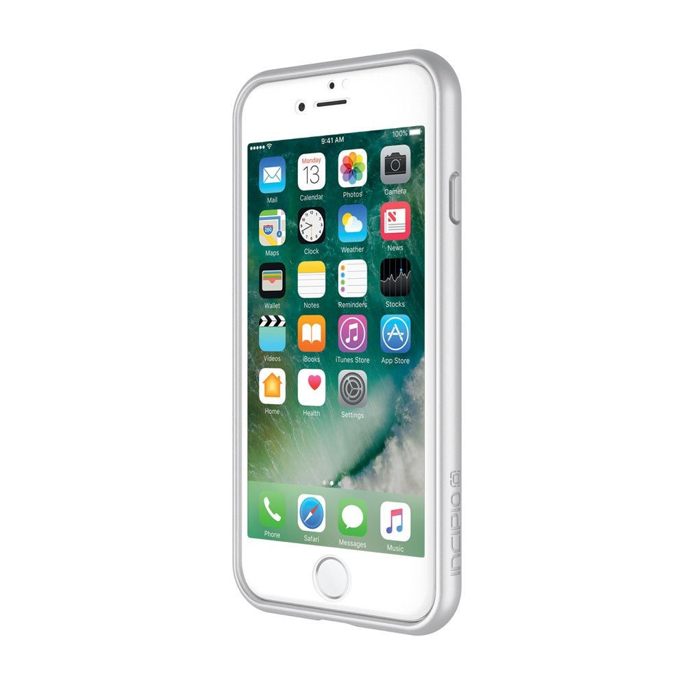 Shop Australia stock INCIPIO CO-MOLDED BUMPER CASE WITH PLEX PRO 3D SCREEN PROTECTOR FOR iPHONE 8/7 - SILVER with free shipping online. Shop Incipio collections with afterpay Australia Stock