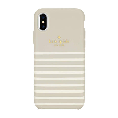 Cream woman style case for iPhone Xs & iPhone X from Kate Spade New York