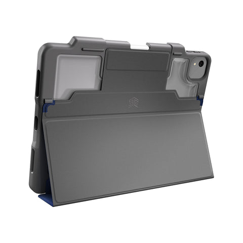super protective folio cover rugged case for new ipad air 4th gen 2020. show off your gadget with elegant clear back to customise your device