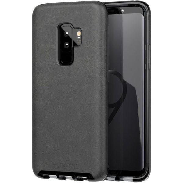 tech21 evo luxe vegan leather flexshock case for galaxy s9 plus