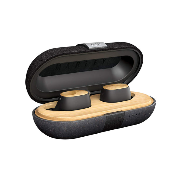 HOUSE OF MARLEY Liberate Air Truly Wireless Bluetooth Earbuds - Black