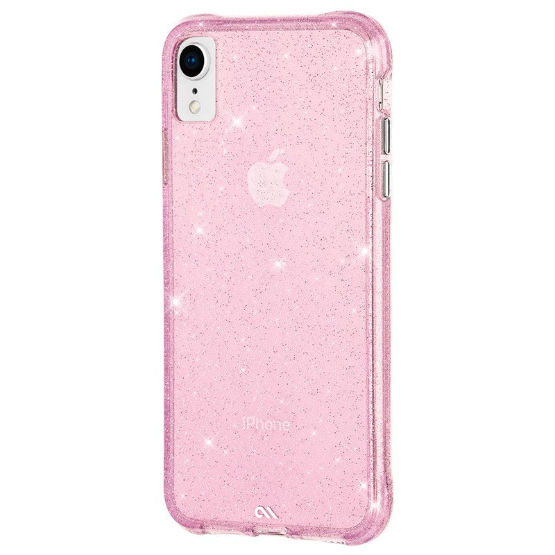 woman style glitter case pink for iPhone XR Australia Stock