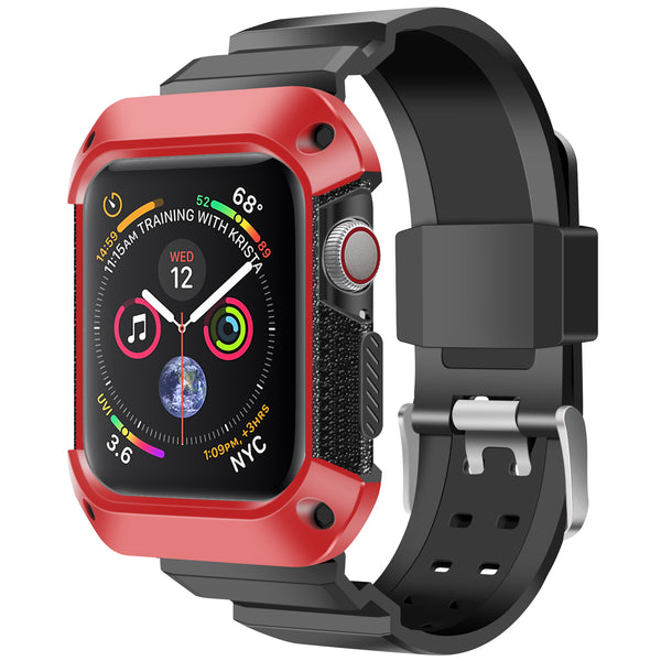 Shop Australia stock FLEXII GRAVITY Rugged Protective Case With Strap Band For Apple Watch Series 5/4 (44mm) - Red/Black with free shipping online. Shop FlexiiGravity collections with afterpay