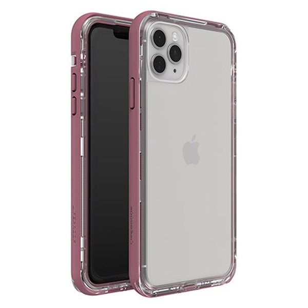 iphone 11 pro max clear case pink case from lifeproof