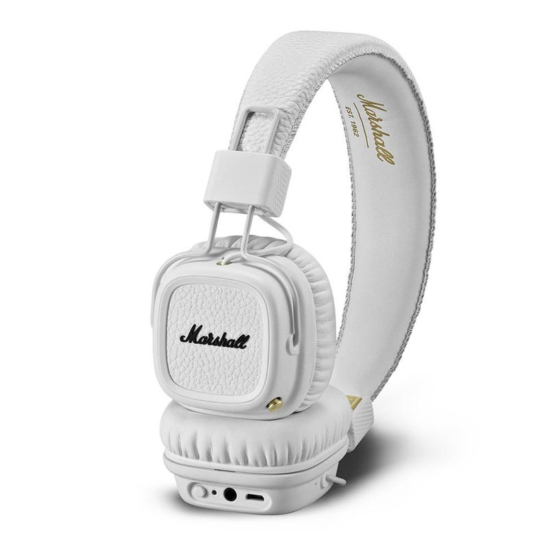 buy marshall major ii bluetooth on-ear headphones white australia Australia Stock