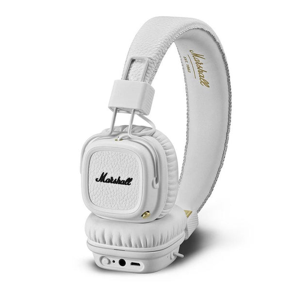 buy marshall major ii bluetooth on-ear headphones white australia