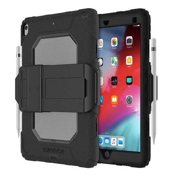 Shop Australia stock GRIFFIN Survivor All-Terrain Rugged Case For iPad 10.2 inch 8th gen / iPad 10.2 (7th Gen) - Black with free shipping online. Shop Griffin collections with afterpay