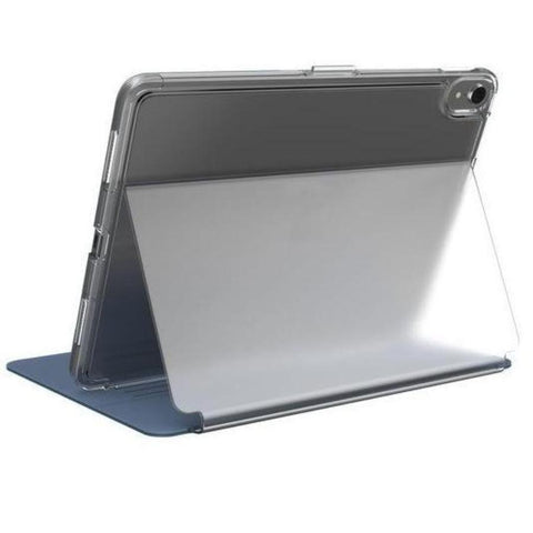 standing vie of folio blue clear case for ipad pro 11 inch from australia biggest speck cases