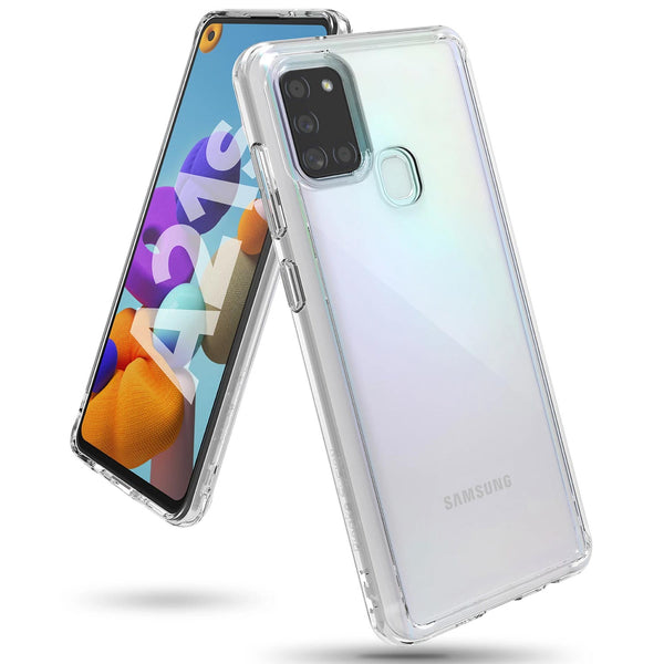 samsung a21s clear rugged case from ringke australia. buy online with afterpay payment and free express shipping australia wide