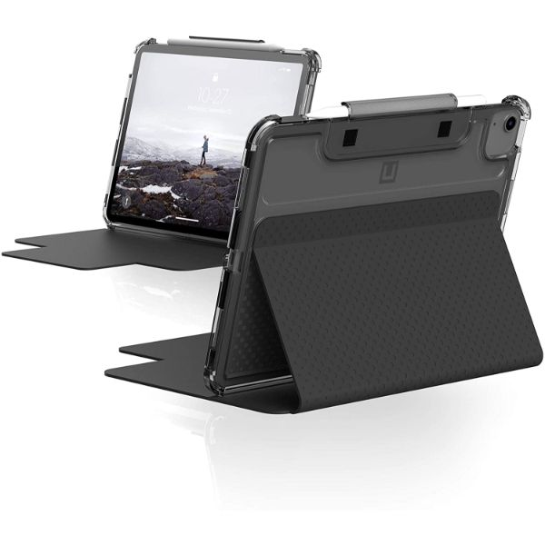 Buy new folio case for iPad Air 4th Gen/Pro 11 with black minimalis design from UAG with free shipping Australia wide.
