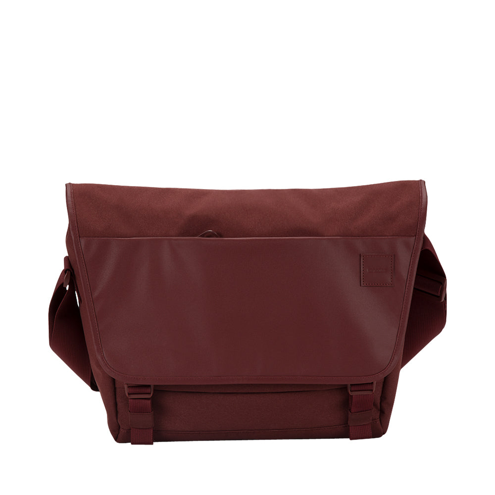 buy genuine incase compass messenger bag for macbook upto 15 inch deep red free shipping australia wide Australia Stock