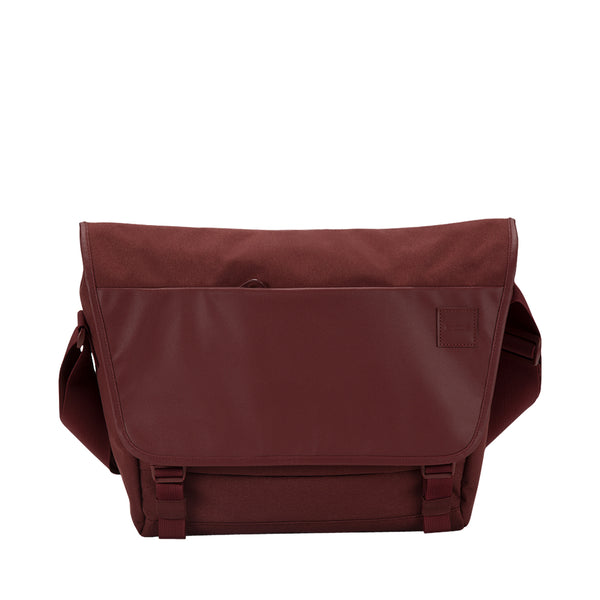buy genuine incase compass messenger bag for macbook upto 15 inch deep red free shipping australia wide