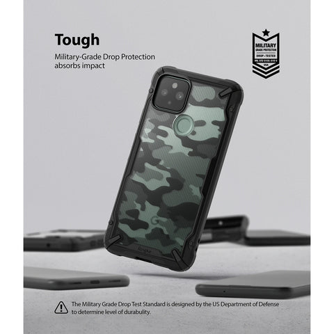 military grade drop protection technology from ringke fusion x rugged case camo colour