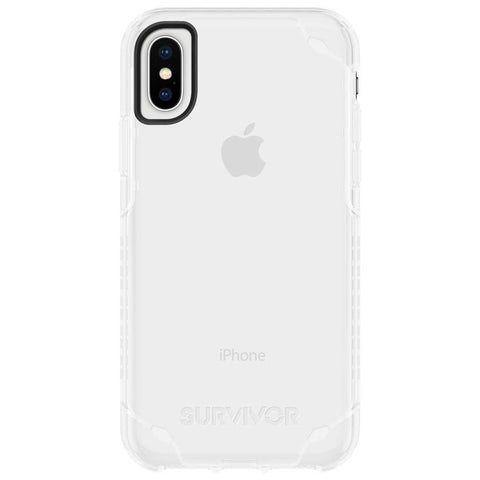 Clear Griffin Survivor Strong case for iPhone XS max with afterpay