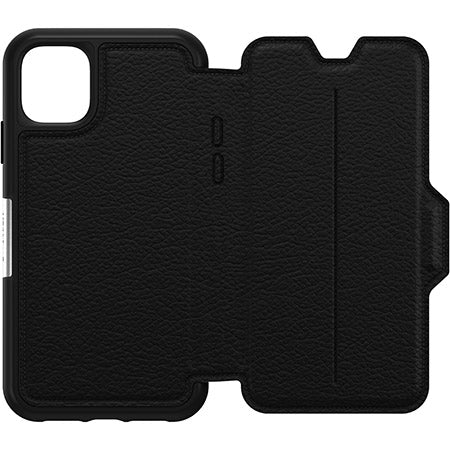 "Otterbox Strada Leather Folio Wallet Case For iPhone 11 (6.1"")- Shadow"