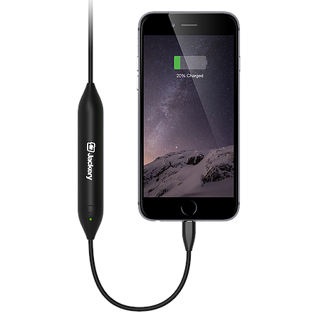 Shop Australia stock Jackery Jewel 2-in-1 450mAh Lightning Power Cable for iPhone  - Black with free shipping online. Shop Jackery collections with afterpay Australia Stock