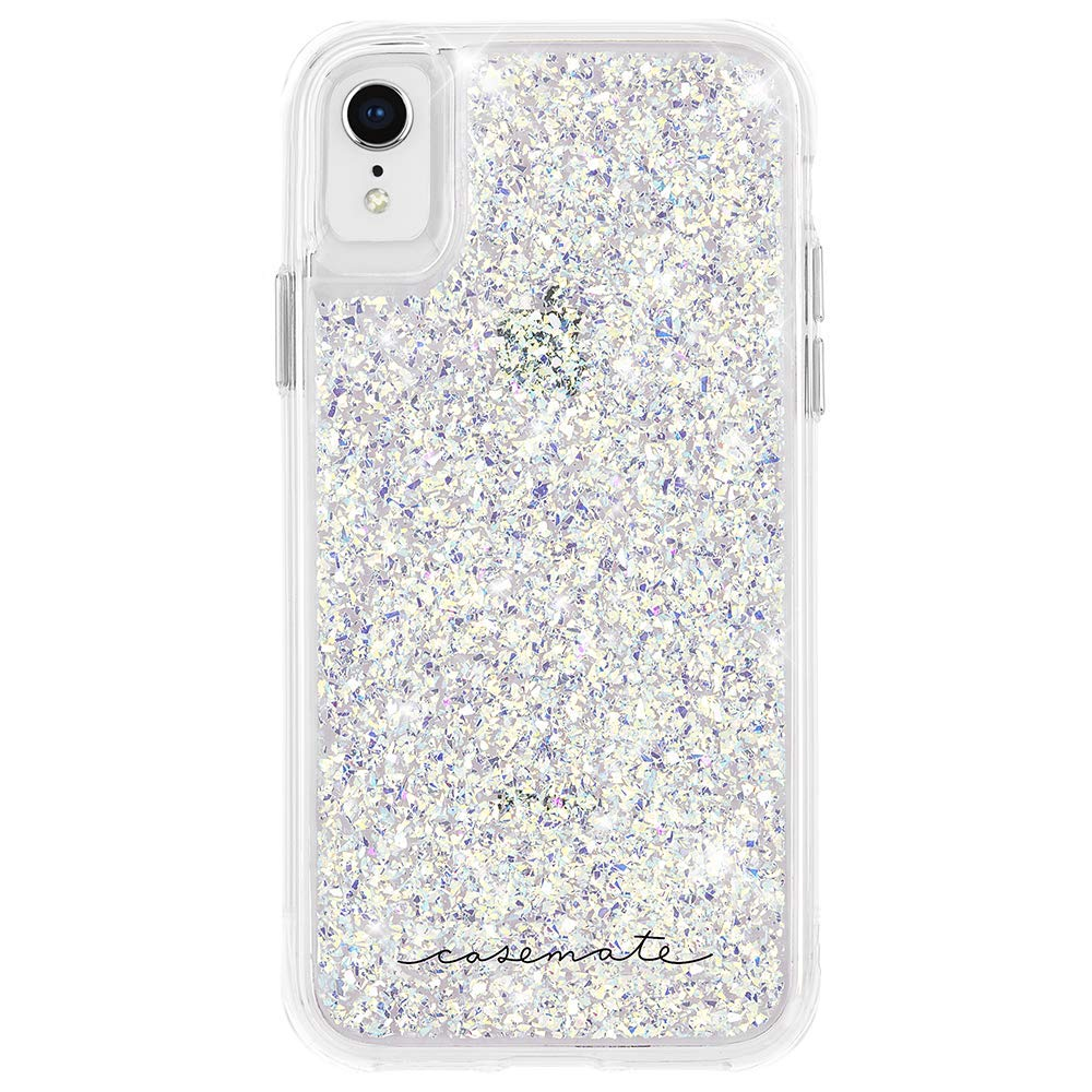 Shop online iPhone XR Sliver Glitter casemate Australia case. Compliment with free shipping & return policy Australia Stock