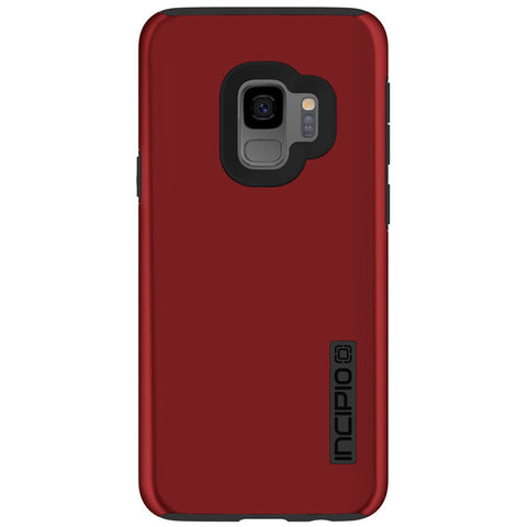 INCIPIO DUALPRO DUAL LAYER PROTECTIVE CASE FOR GALAXY S9 - INRIDESCENT RED