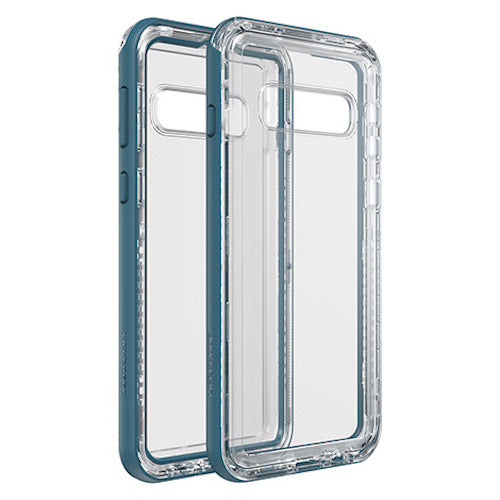 blue clear case with ultimate protection for samsung galaxy s10+