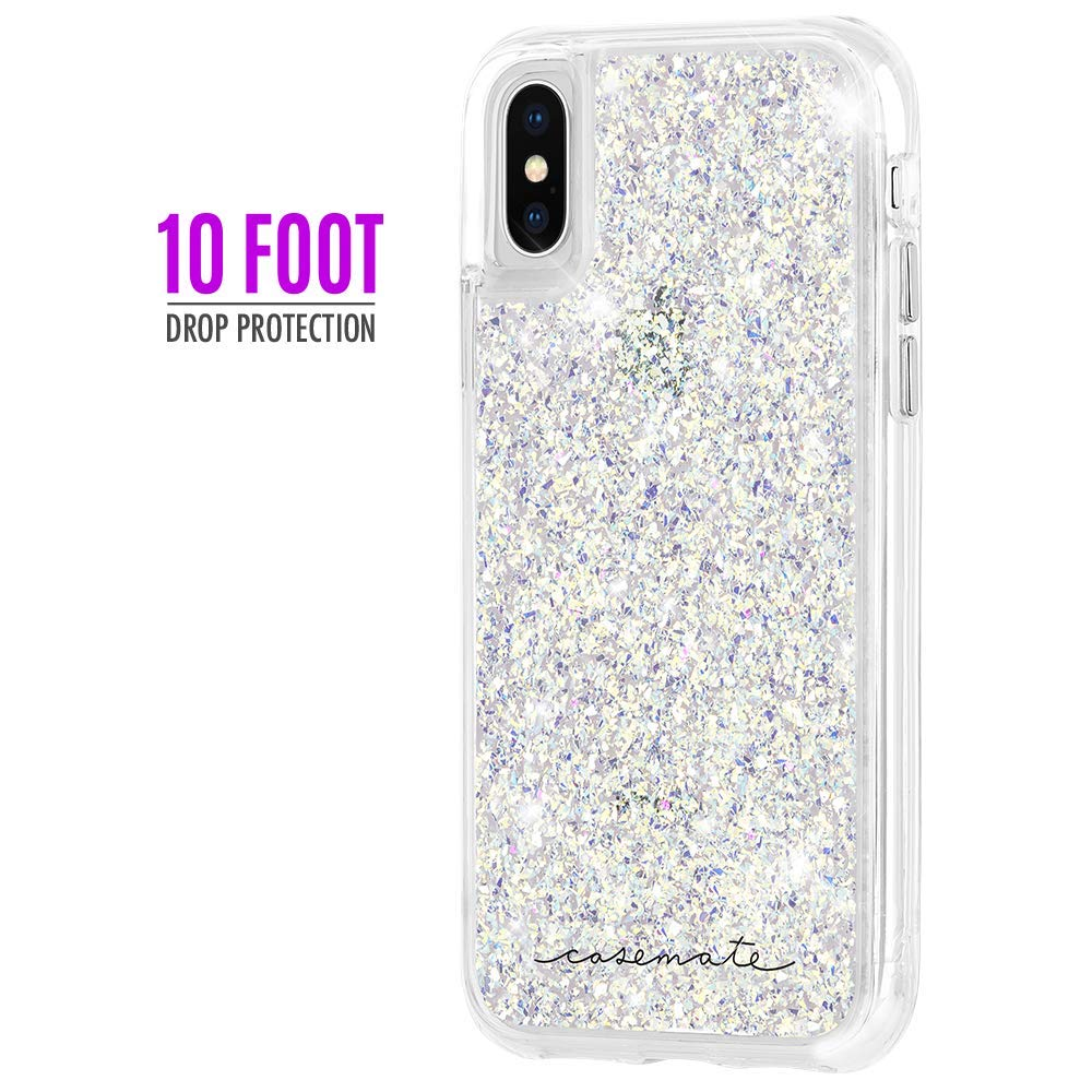 Shop Australia stock CASEMATE TWINKLE GLITTER FOIL CASE FOR IPHONE XS/X - STARDUST with free shipping online. Shop Casemate collections with afterpay Australia Stock