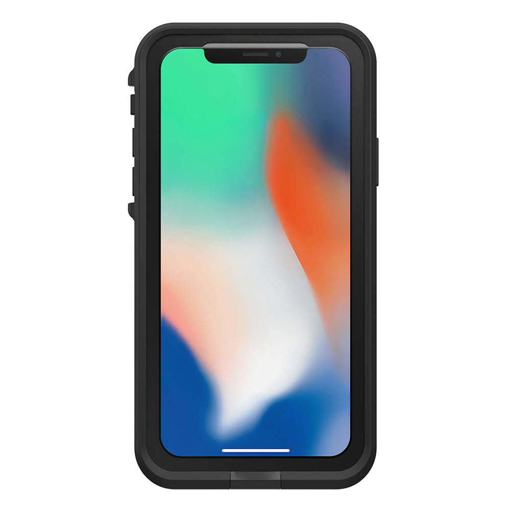 sale retailer 7b5f1 33237 LIFEPROOF FRE WATERPROOF CASE FOR IPHONE X - BLACK/LIME