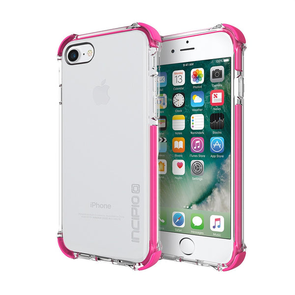 store to buy Incipio Reprieve [Sport] Rugged Case for iPhone 8/iPhone 7 - Clear/Pink australia
