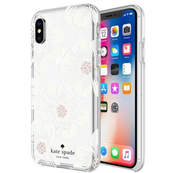 Grab it fast  PROTECTIVE HARDSHELL CASE FOR IPHONE XS MAX - HOLLYHOCK FLORAL FROM KATE SPADE NEW YORK with free shipping Australia wide.