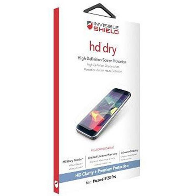 Zagg Invisible Shield Hd Dry Screen Protector For Huawei P20 Australia Australia Stock