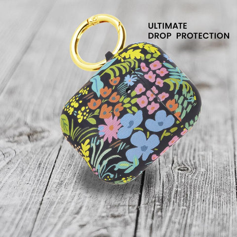 Shop online the new case from rifle paper co with ultimate drop protection and floral design for your airpods 2nd/1st gen.