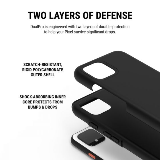 "Shop Australia stock Incipio DualPro Case For Google Pixel 4 (5.7"") - Black with free shipping online. Shop Incipio collections with afterpay Australia Stock"