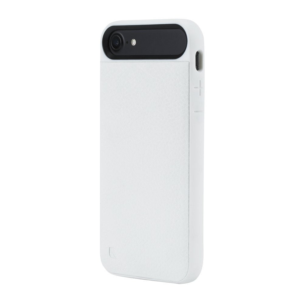 Place to buy genuine and original products from Incase Icon II Pebbled Leather TENSAERLITE Case for iPhone 8/7 - White colour. Free express shipping Australia wide only on Syntricate. Australia Stock
