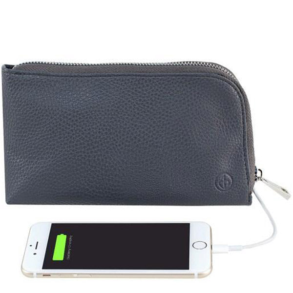 Shop Australia stock Chic Buds Clutchette Power Portable Charger Charging Purse for Universal - Charcoal with free shipping online. Shop Chic Buds collections with afterpay Australia Stock
